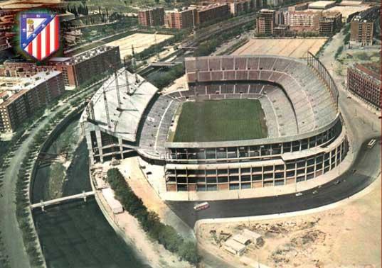 Estadio Vicente Calderon, home of Atletico Madrid   El ...