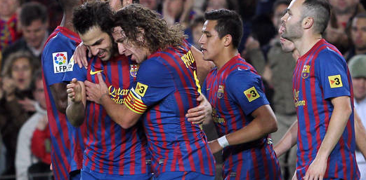 Fabregas, Alexis and Cuenca brought a touch of English width and aggression to Barça.