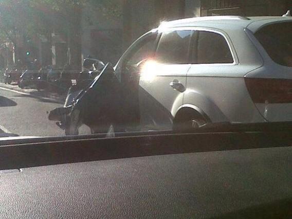 GERARD PIQUE HAS CAR CRASH AHEAD OF GERMANY TRIP | El Centrocampista