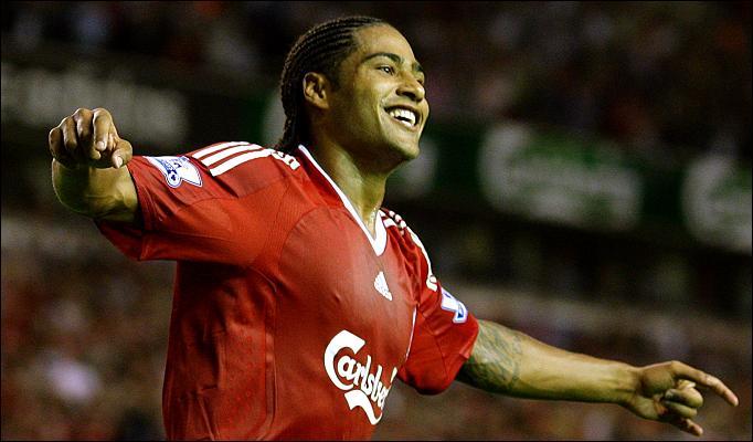 Glen Johnson Liverpool footballer