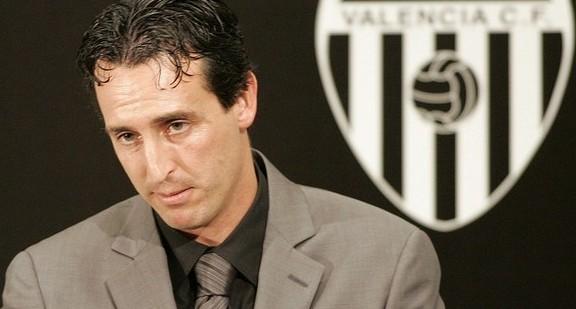 Valencia's new coach Unai Emery attends media presentation in Valencia