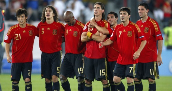 SOCCER: JUN 22 Euro 2008 - Quarter-finals - Italy v Spain