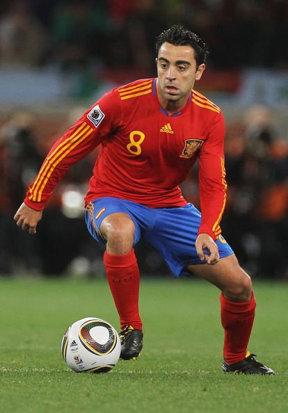 Xavi Position