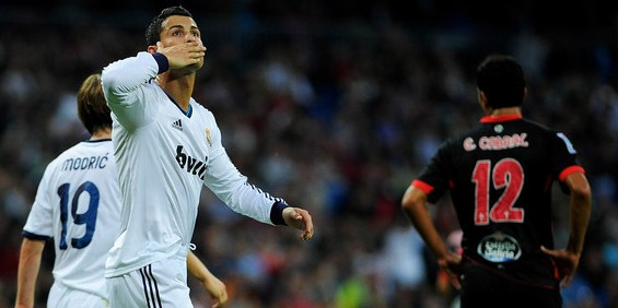 Cristiano-Ronaldo-Celta
