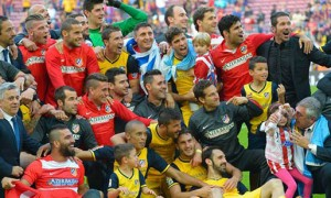 Atletico Madrid champions