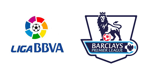 La Liga, Premier League logo