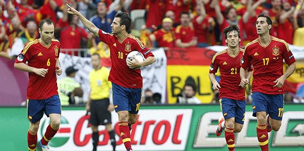 Cesc Fabregas goal