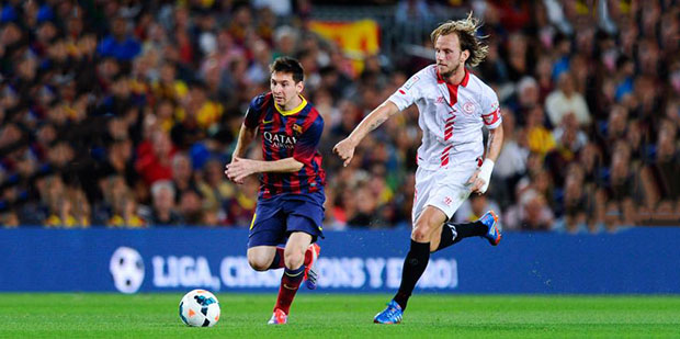 Lionel Messi vs Ivan Rakitic